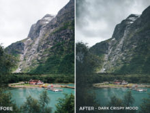 Dark Crispy Mood - Twin the World Lightroom Presets Vol. 2 - FilterGrade