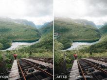 Autumn Tones - Twin the World Lightroom Presets Vol. 2 - FilterGrade