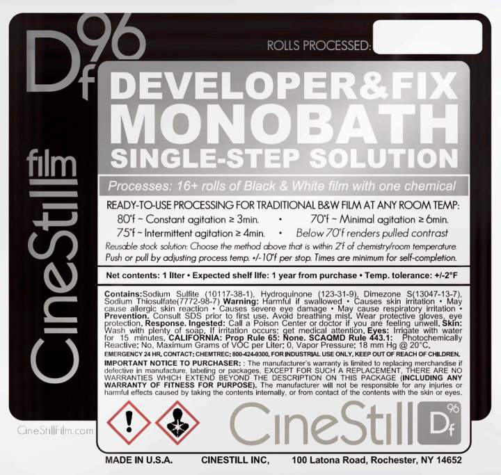 Featured - Cinestill Announces Df96 One-Step Solution for Black & White Film - FilterGrade