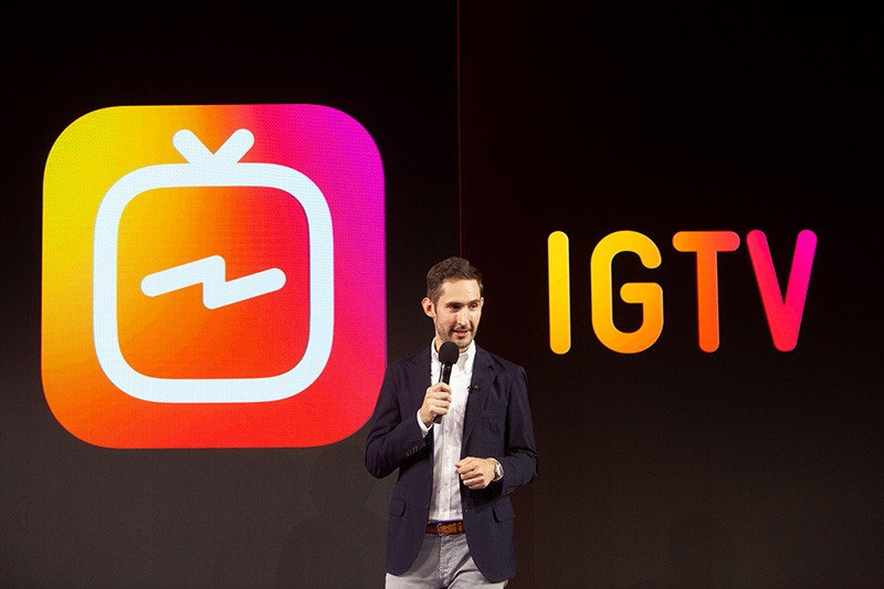 IGTV app launch and announcement kevin systrom
