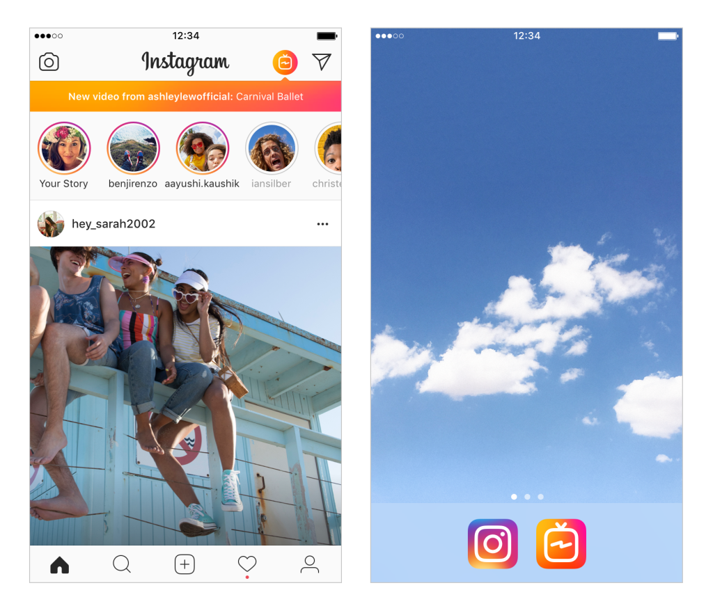 IGTV new app from Instagram