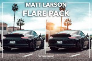 Cover Matt Larson Lens Flares Pack - FilterGrade
