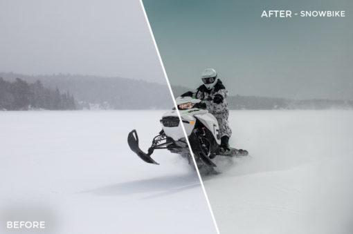 Snowbike - Alex Tritz Lightroom Presets Vol. 4 (CANADA PACK) - FilterGrade
