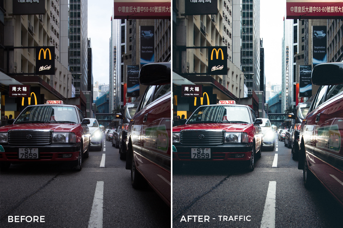 Traffic - Dmitry Kirzhaev Hong Kong Lightroom Presets - FilterGrade