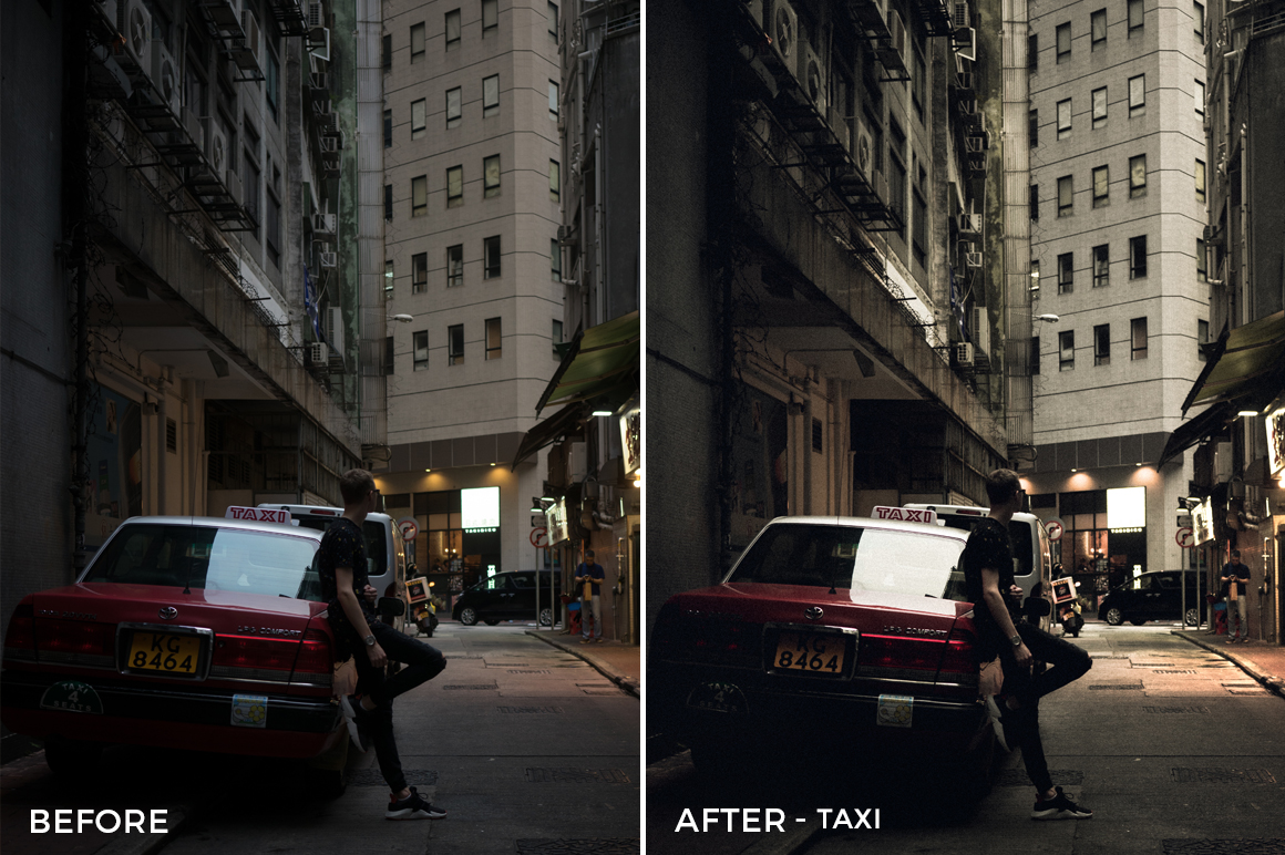 Taxi - Dmitry Kirzhaev Hong Kong Lightroom Presets - FilterGrade