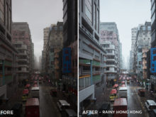 Rainy Hong Kong - Dmitry Kirzhaev Hong Kong Lightroom Presets - FilterGrade