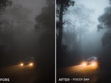 Foggy Day - Dmitry Kirzhaev Hong Kong Lightroom Presets - FilterGrade