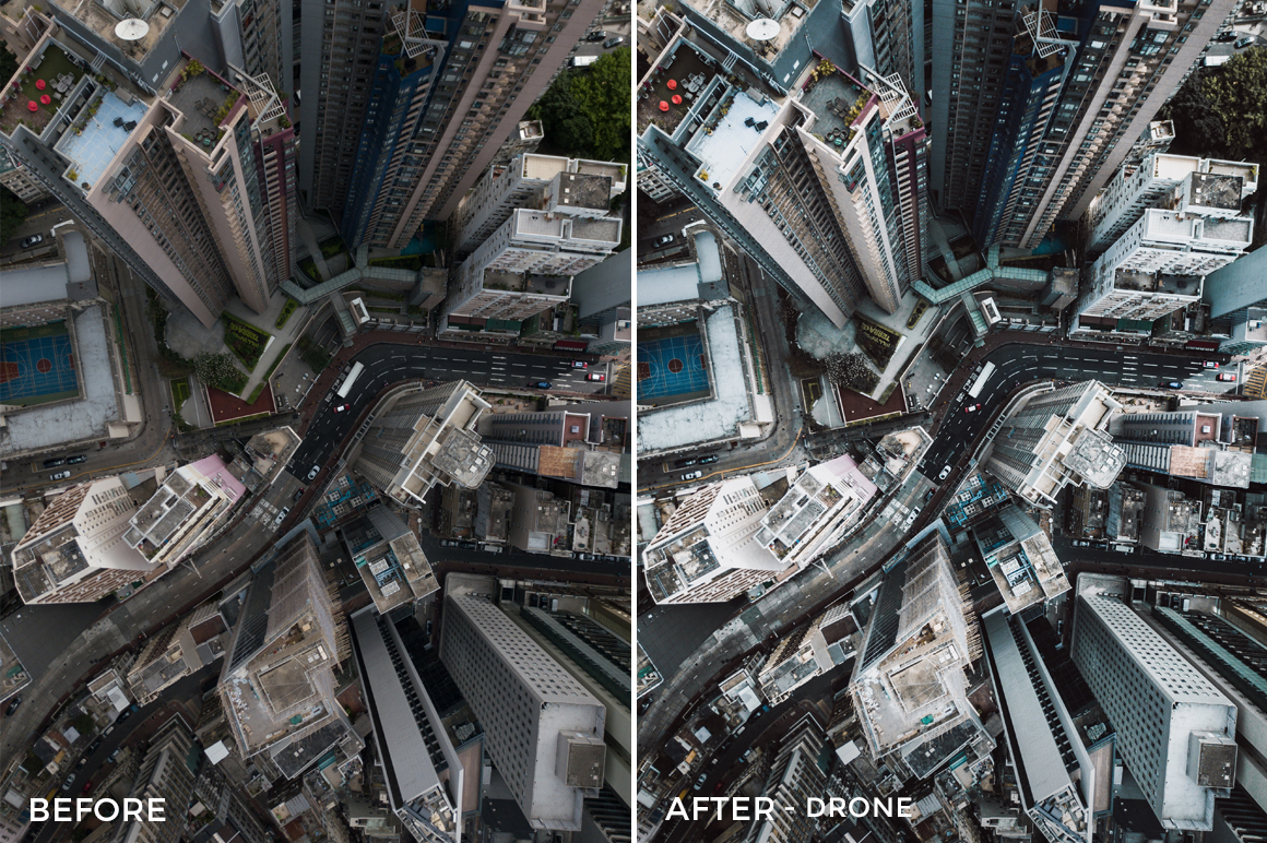 Drone - Dmitry Kirzhaev Hong Kong Lightroom Presets - FilterGrade