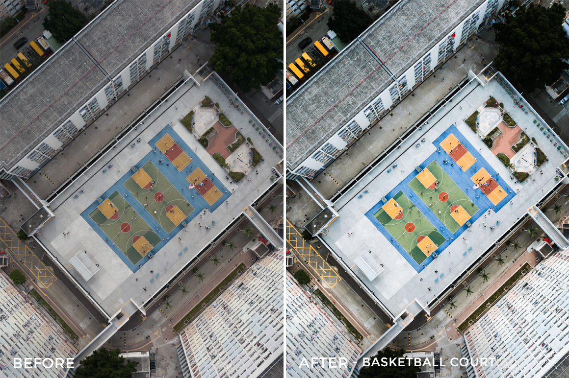 Basketball Court - Dmitry Kirzhaev Hong Kong Lightroom Presets - FilterGrade