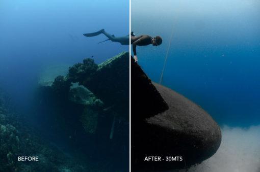 30mts underwater presets @i2raelgil