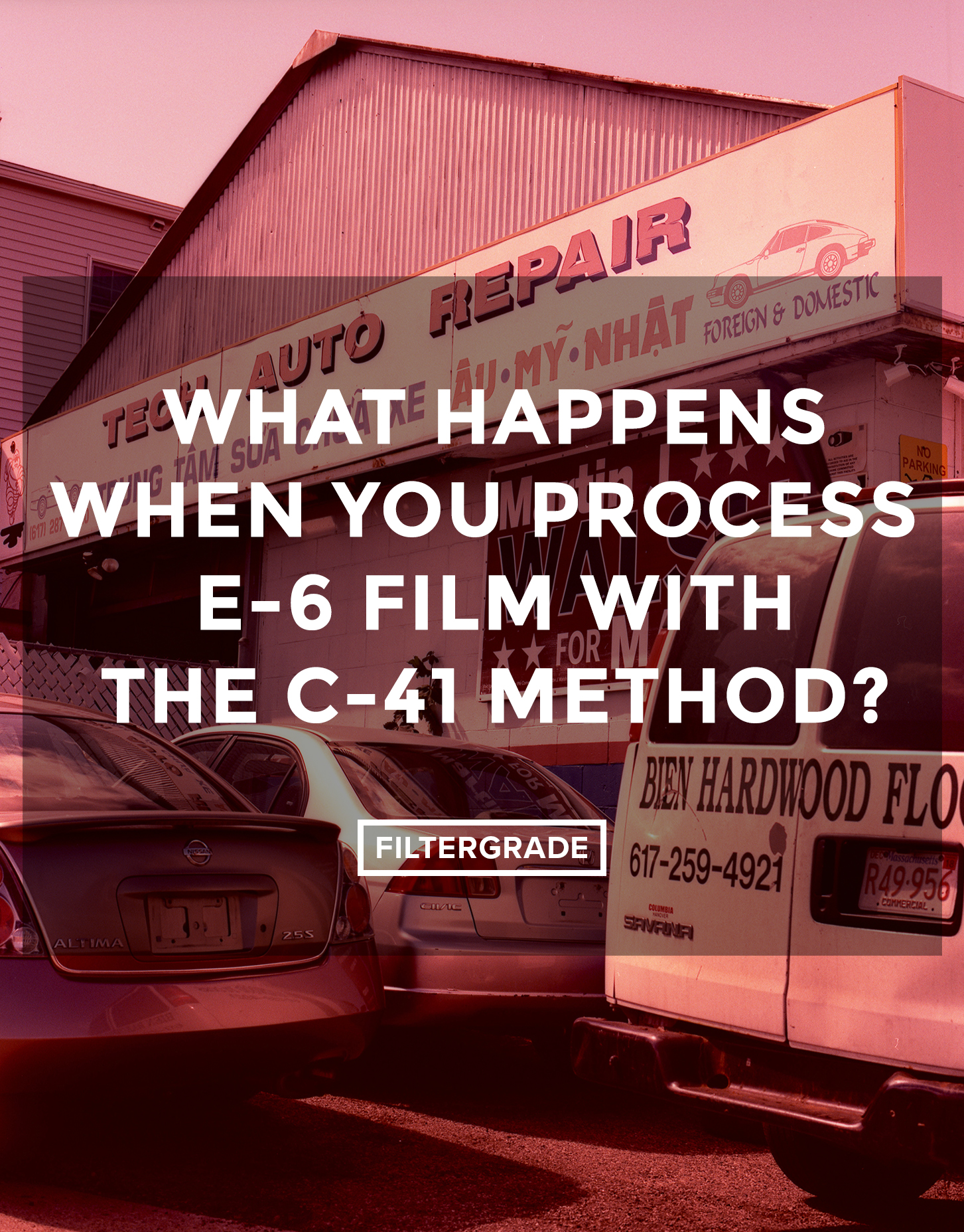 What Happens When You Process E-6 Film With the C-41 Method? - FilterGrade