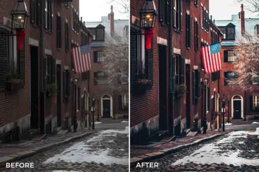5 Boston Lightroom Presets - David Duan Castillo - FilterGrade