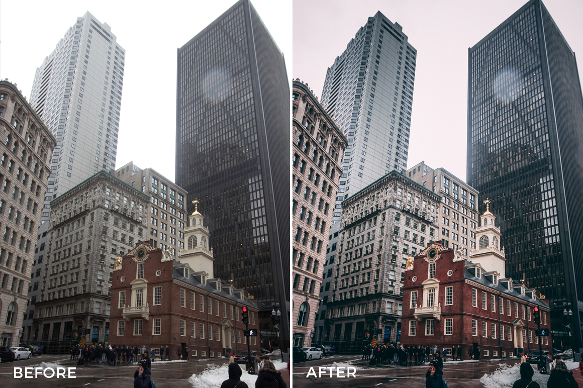 4 Boston Lightroom Presets - David Duan Castillo - FilterGrade