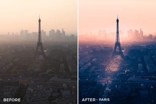 Paris - GrafixArt Lightroom Presets - FilterGrade