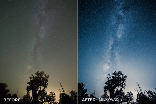 Milkyway- GrafixArt Lightroom Presets - FilterGrade