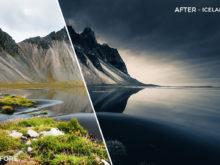 Iceland - GrafixArt Lightroom Presets - FilterGrade