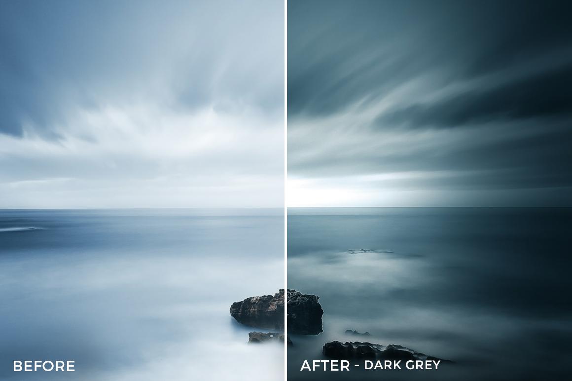 Dark Grey - GrafixArt Lightroom Presets - FilterGrade
