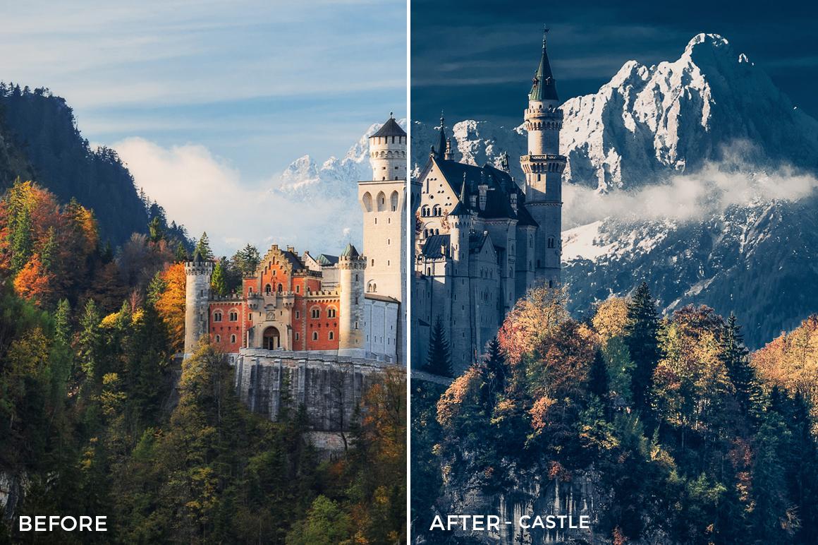 Castle - GrafixArt Lightroom Presets - FilterGrade