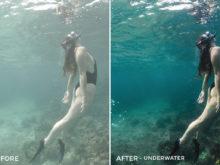 Underwater - Rocky Pines Summer Lightroom Presets - FilterGrade