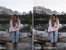 Soft Morning - Rocky Pines Summer Lightroom Presets - FilterGrade