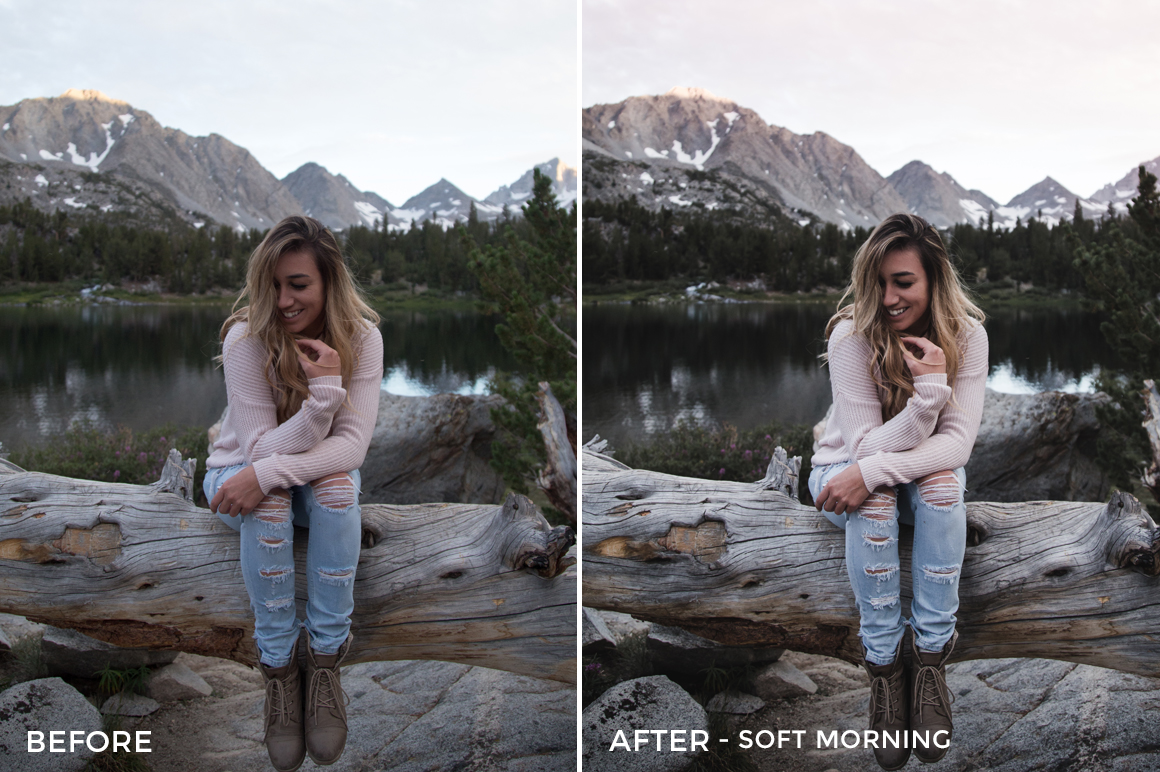 Soft Morning - Rocky Pines Summer Lightroom Presets - FilterGrade