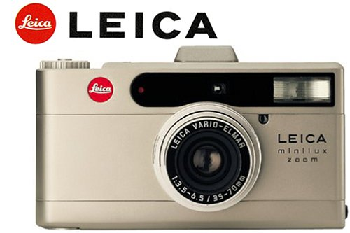 Leica Minilux - The 5 Best Point-and-Shoot Film Cameras - FilterGrade