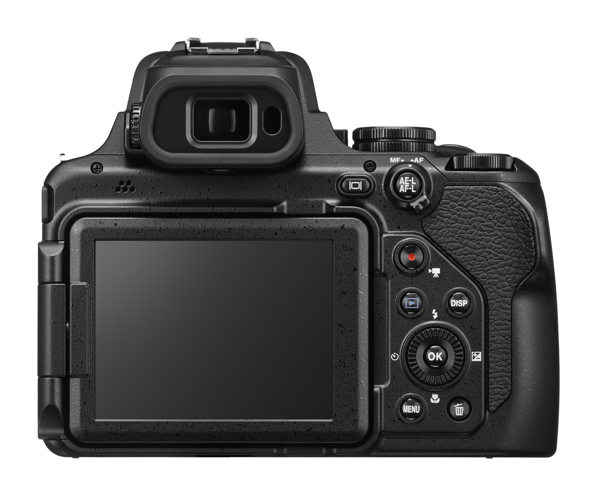 Back of Nikon COOLPIX P1000 - FilterGrade