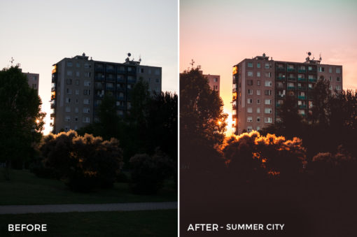 Summer City - Viktor Szabo Summer Feels Lightroom Presets - FilterGrade