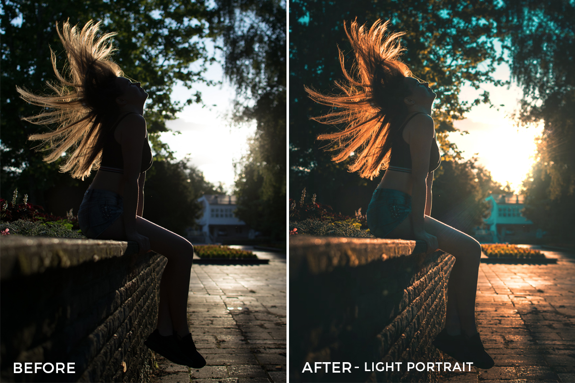 Light Portrait - Viktor Szabo Summer Feels Lightroom Presets - FilterGrade