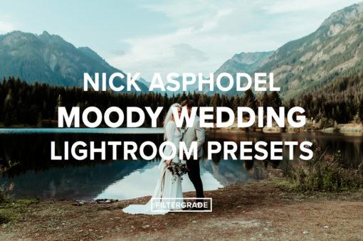 Featured Nick Asphodel Moody Wedding Lightroom Presets - FilterGrade