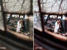 4 Nick Asphodel Moody Wedding Lightroom Presets - FilterGrade