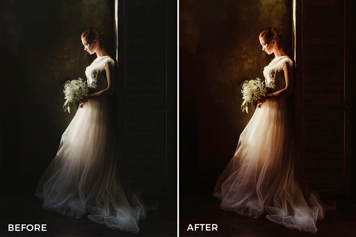 3 Nick Asphodel Moody Wedding Lightroom Presets - FilterGrade