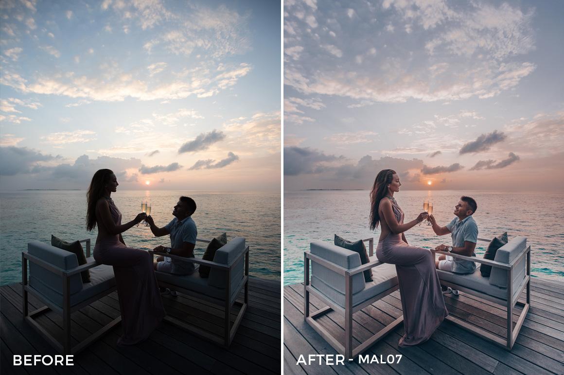 MAL07 - Maldives Lightroom Presets by Sergey Kabankov Anyuta Rai - FilterGrade