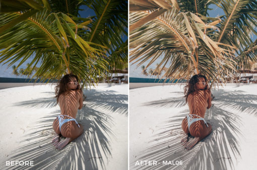 MAL06 - Maldives Lightroom Presets by Sergey Kabankov Anyuta Rai - FilterGrade