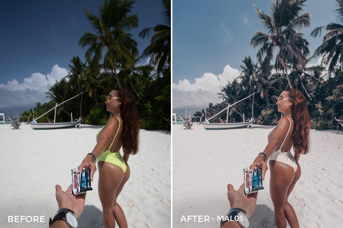 MAL05 - Maldives Lightroom Presets by Sergey Kabankov Anyuta Rai - FilterGrade