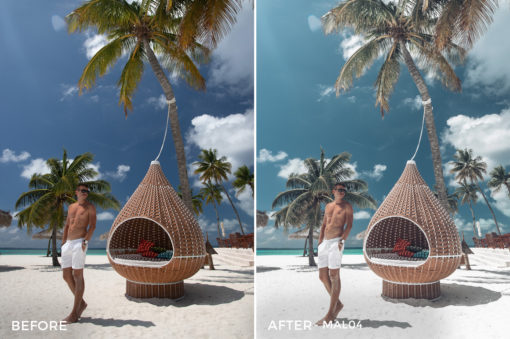 MAL04 - Maldives Lightroom Presets by Sergey Kabankov Anyuta Rai - FilterGrade