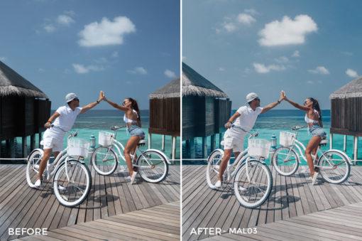 MAL03 - Maldives Lightroom Presets by Sergey Kabankov Anyuta Rai - FilterGrade