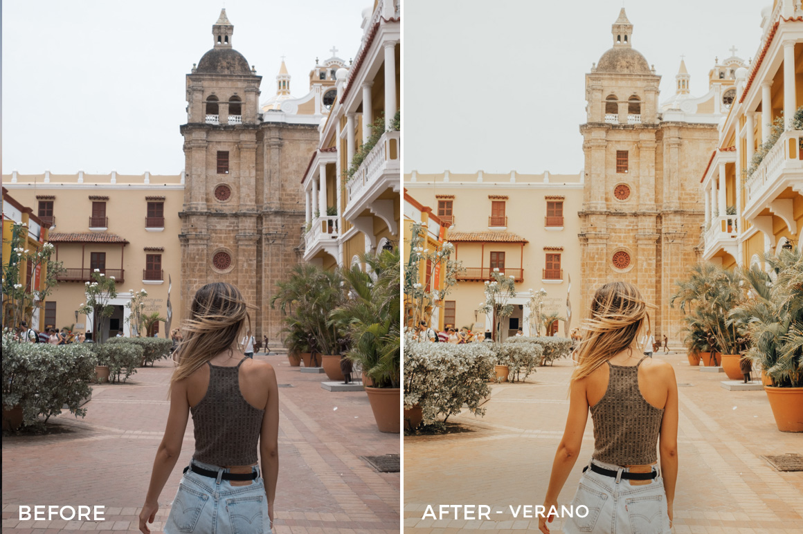Verano - Bree Rose Travel Lightroom Presets - FilterGrade