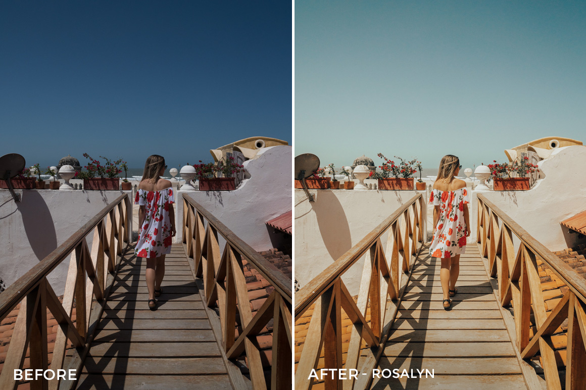 Rosalyn - Bree Rose Travel Lightroom Presets - FilterGrade