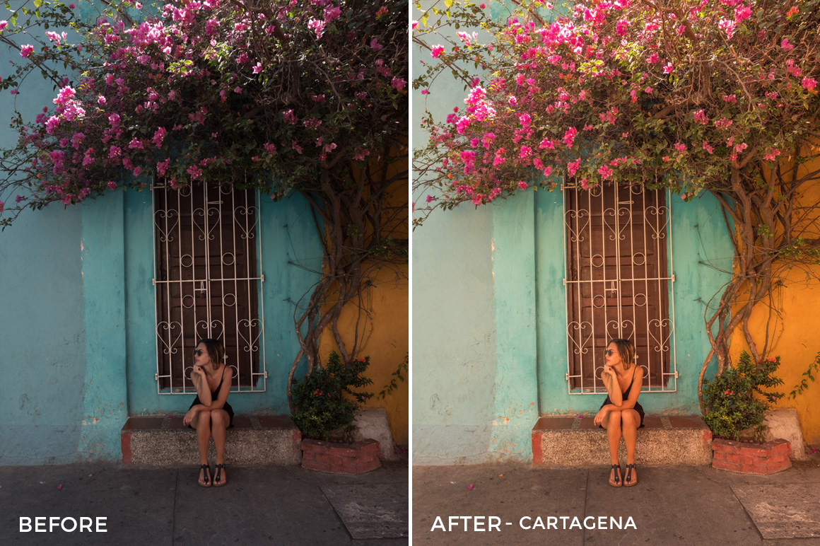 Cartagena - Bree Rose Travel Lightroom Presets - FilterGrade