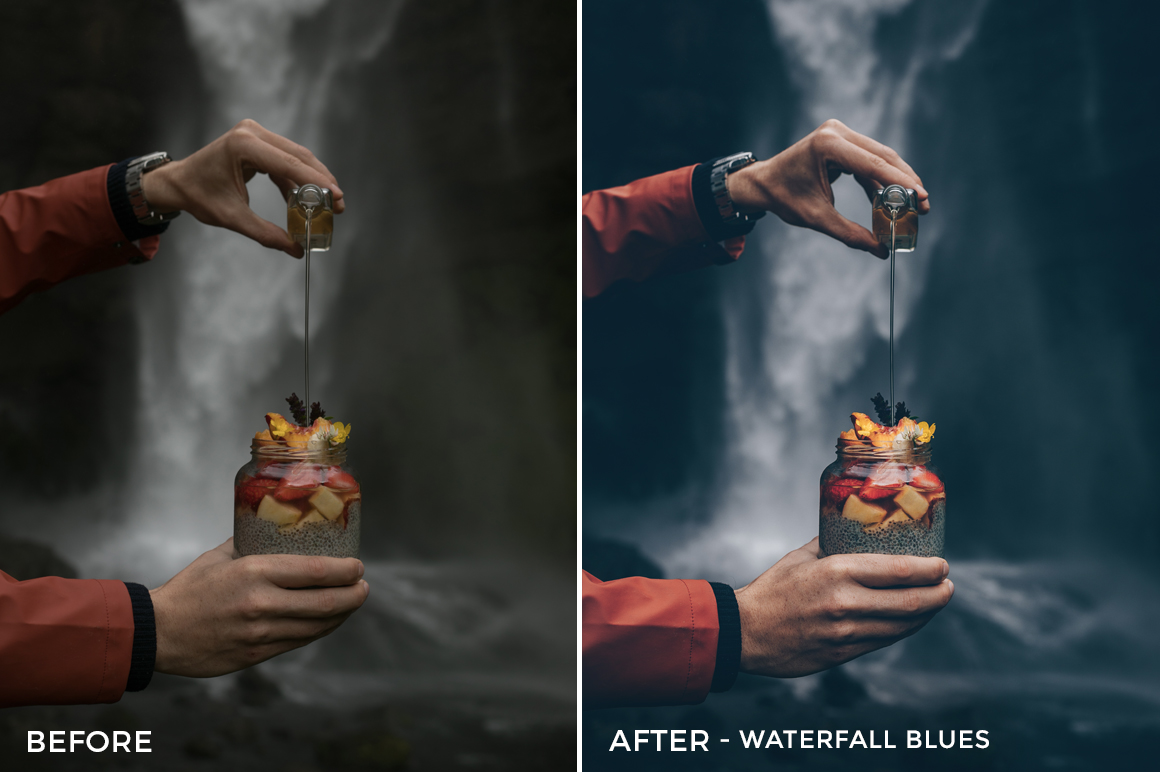 Waterfall-Blues-Scandinavian-Blue-Lightroom-Presets-Black.White_.Vivid-FilterGrade