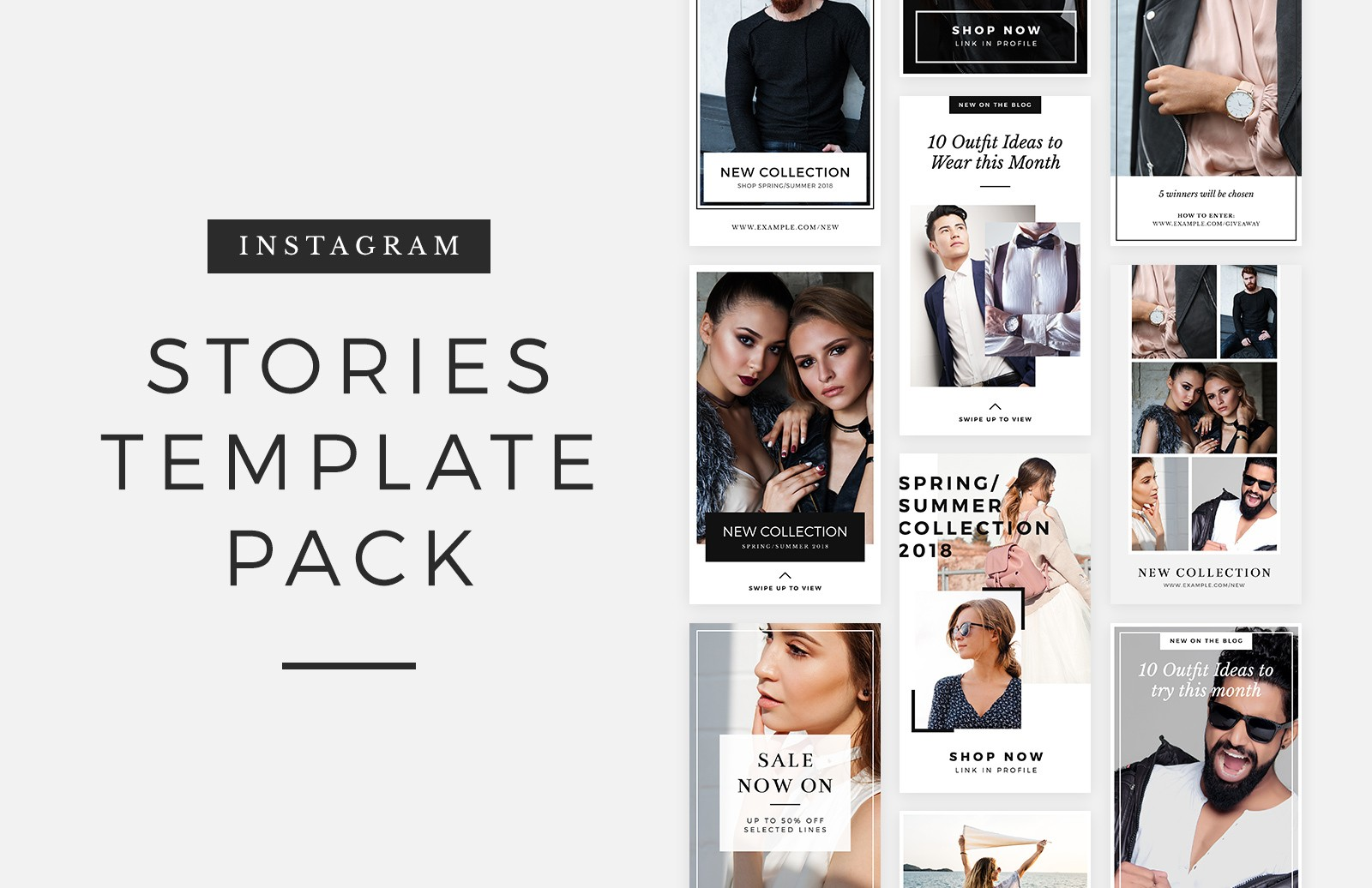 stories template pack