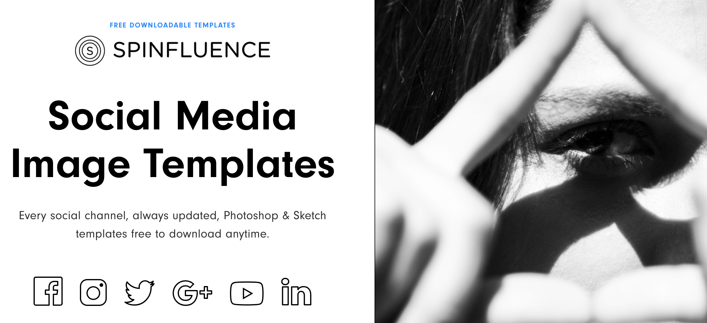 social media image size templates