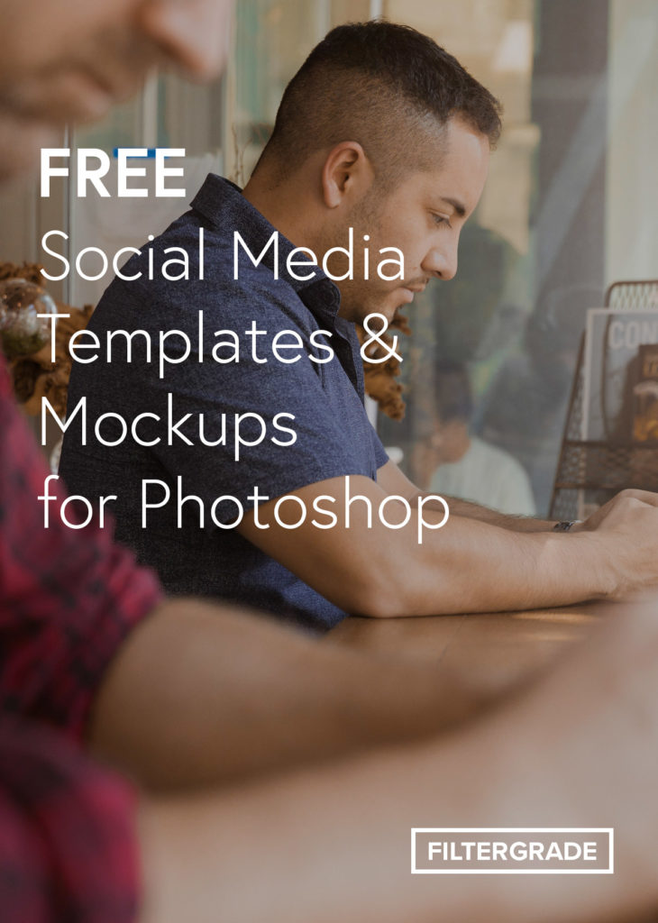 Free Social Media Templates and Mockups for Photoshop.