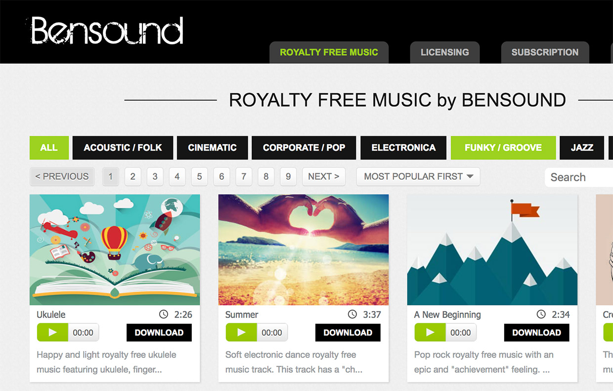 Free Music for Video Editing: Find Background Music for Your