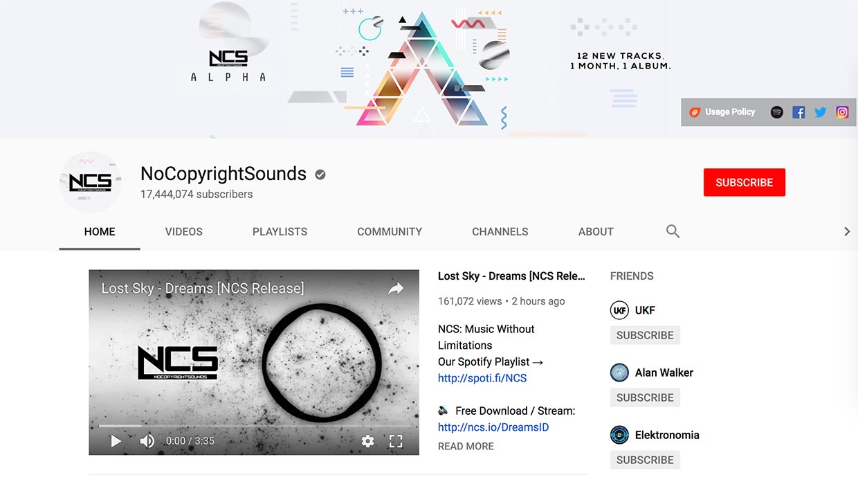 nocopyrightsounds free music source