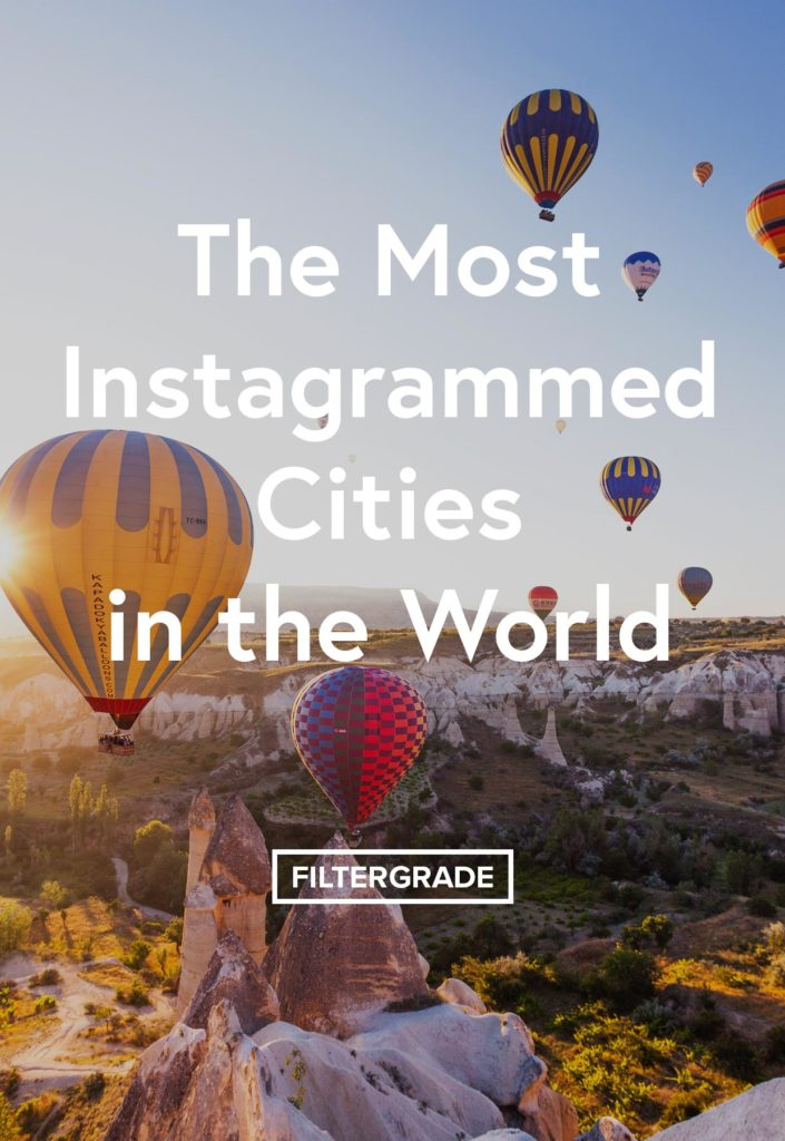 The Most Instagrammed Cities in the World