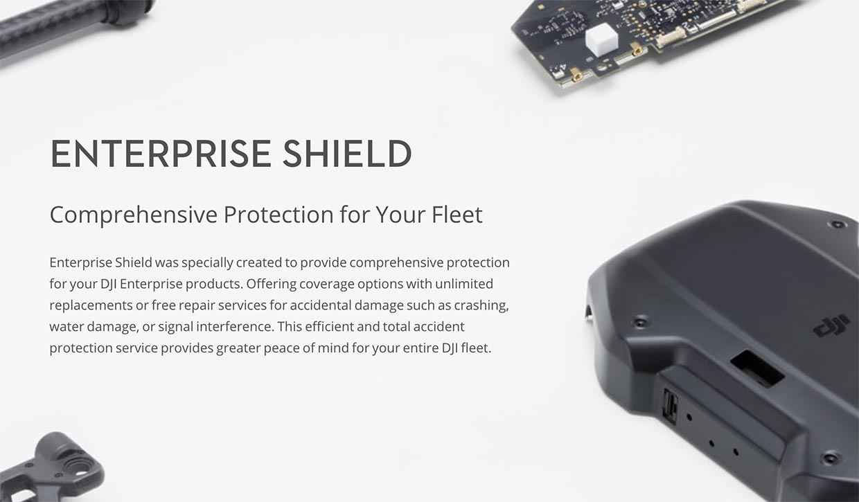 DJI Launches Enterprise Shield Drone Protection Plan
