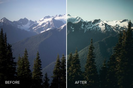 mountain photography presets