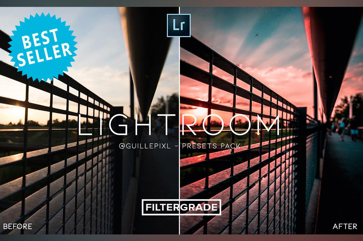 MOBILE + DESKTOP Lightroom Presets Bundle by @guillepixl